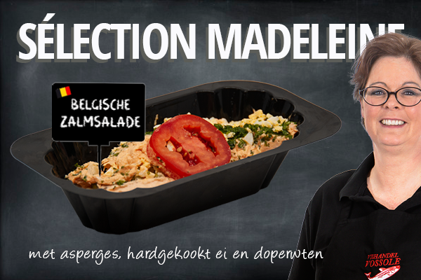 Huisgemaakte Belgische Zalmsalade
