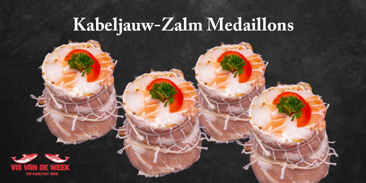Vishandel Vossole: Kabeljauw-Zalm Medaillons